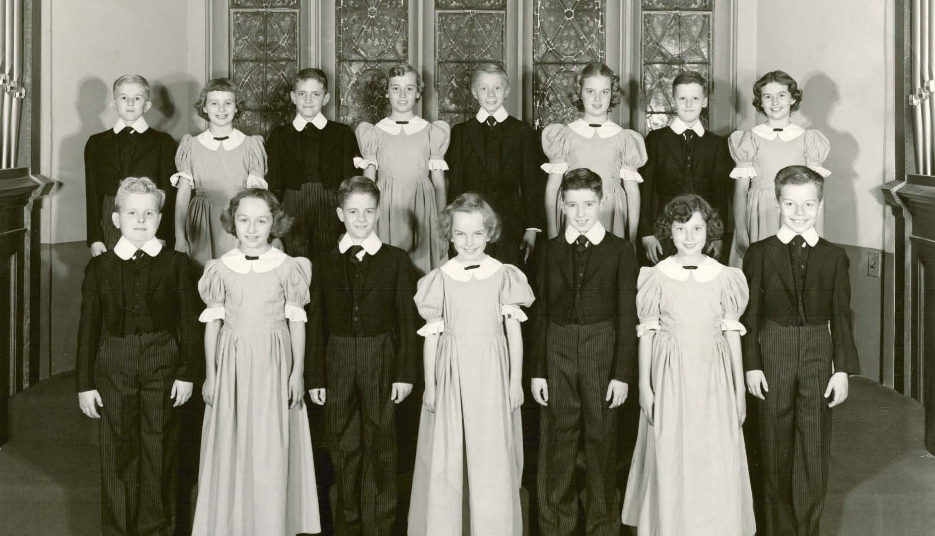 Sectional Publicity Photo (1954) and Musical Selection